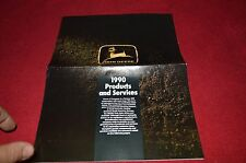 John Deere 1990 Products & Services Dealer's Brochure YABE