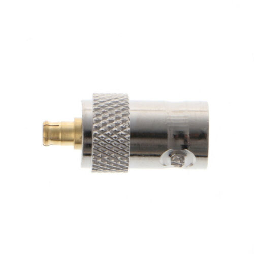 BNC Female Jack to MCX Male Plug Straight RF Coax Coaxial Connector Adapter