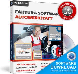 Kfz Werkstatt Softwarenetzwerk Für 10 Pcangeboterechnungen