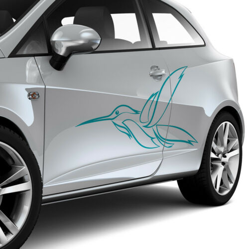 Pegatinas Kolibri tribal abstracto Pinstripe decoración auto tuning sticker #1309
