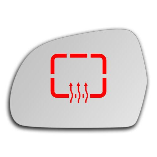Left Side Clip On Heated Mirror Glass for Skoda Superb 2008-2015 0267LSHP