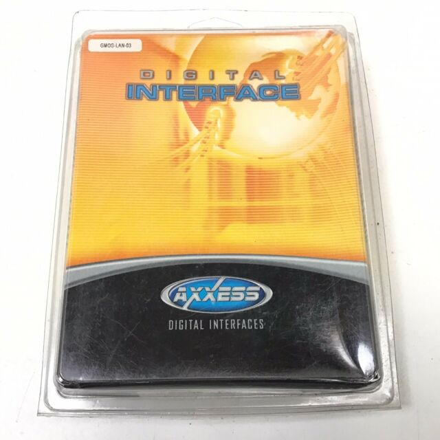 GMOS-LAN-03 METRA AXXESS / 2006 - 2012 UP GM DATA RADIO INTERFACE HARNESS *NEW*