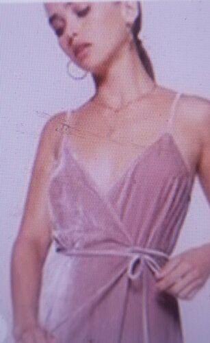 Sexy REFORMATION ANOUSH BLUSH Velvet Wrap Dress SZ