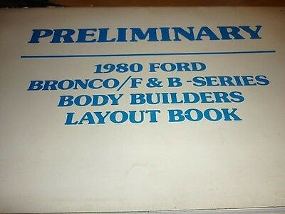 1980 FORD BRONCO F150 F250 F350 RANGER WIRING LAYOUT BK | eBay