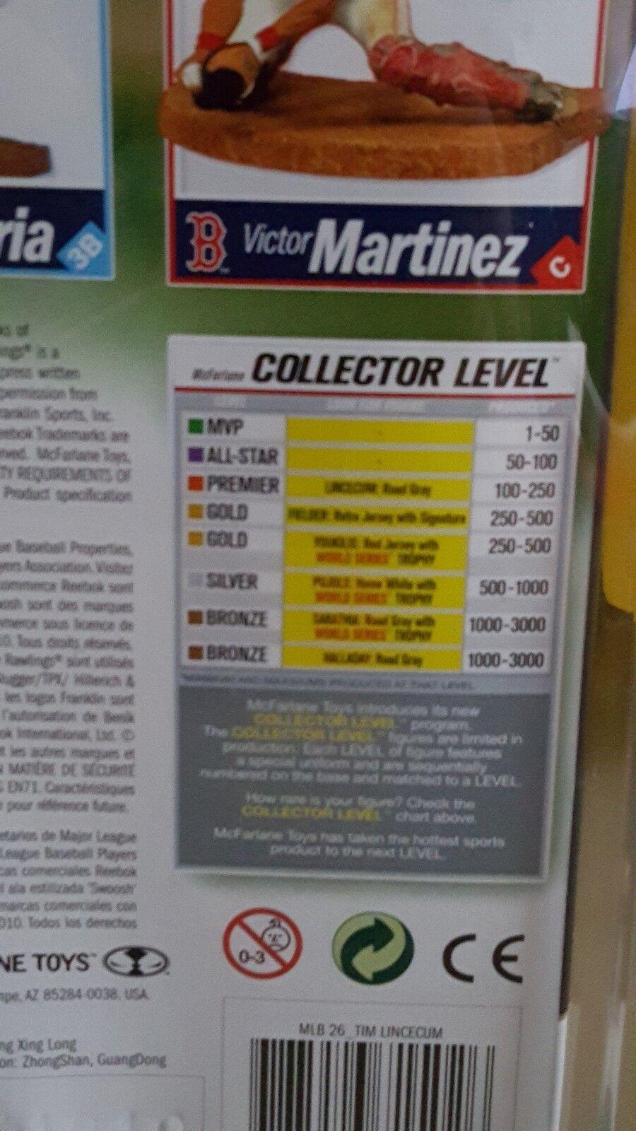MCFARLANE MLB 26 TIM LINCECUM COLLECTOR LEVEL GREY JERSEY JERSEY JERSEY VARIANT FIGURE 712a0a