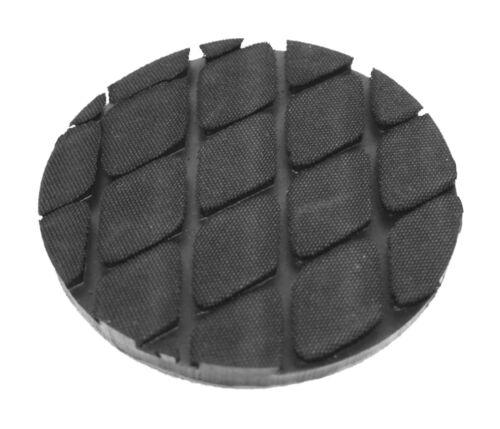 Gummiauflage Raute 120x10mm Wagenheber Hebebühne Auflage Gummi Klotz Unterlage
