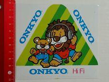 ADESIVI/Sticker: ONKYO HI FI (150616120)