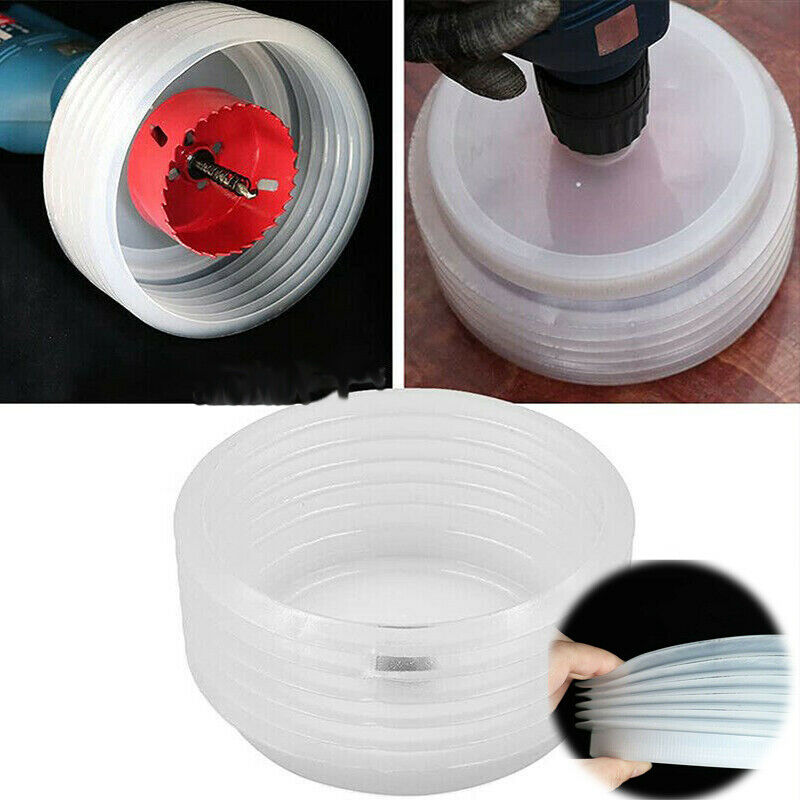 Spotlight Hole Saw Dust Cover Metal Drill Downlight Hole Saw Dust Cover