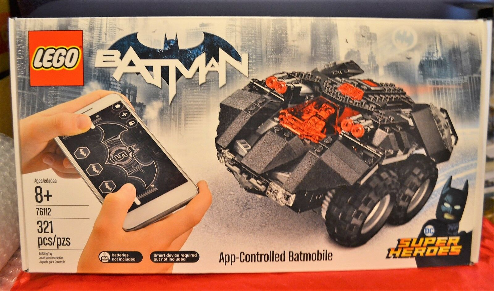Lego Batman   76112 Lego Batman Mobile App Controlled Batmobile. Lego set