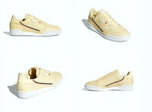 3fe7dcd47588 Adidas Continental 80 Shoes Leather Mist Sun Blue Red Mens Size 10.5 ...