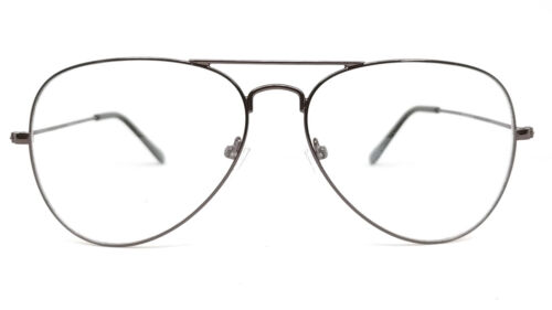 Titanium Aviator Anti Reflective Block Blue Ray Computer Glasses Eyeglasses