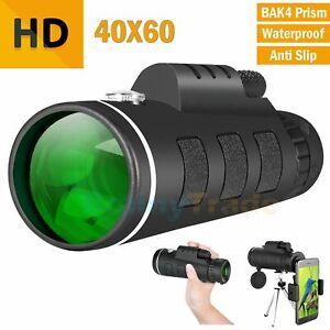 40X60-Zoom-Optical-HD-Night-Vision-Monocular-Telescope-Tripod-Clip-for-phone