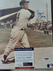 Ernie-Banks-Chicago-Cubs-Signed-Autograph-16-x-20-Photo-Mounted-PSA-DNA