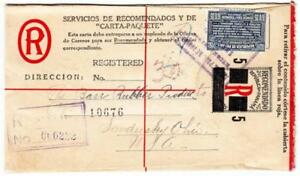Panama-REGISTERED-POSTAL-ENVELOPE-HG-C2-RARE-uprated-Sc-225-DAVID