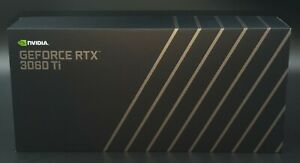NVIDIA GeForce RTX 3060 Ti FE Founders Edition Non-LHR Neu OVP New Grafikkarte ✅