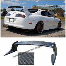 For 93-98 Toyota Supra T-Style Carbon Fiber Rear Trunk Wing Spoiler JZA80 MK4