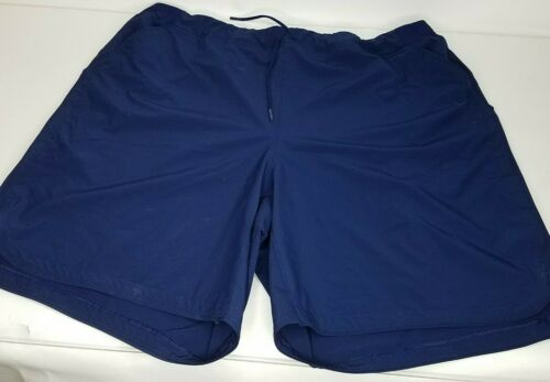 "Lands End Quick Dry Swim Board Shorts 24W Deep Sea Navy 9/"" Inseam"