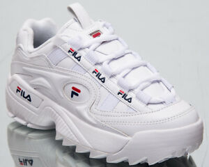 Fila-D-Formation-Women-White-Sneakers-Chunky-Casual-Lifestyle-Shoes-5CM00514-125