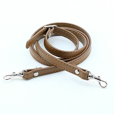 Handbag Shoulder Strap DIY Cross Body Adjustable Leather Handle Replacement