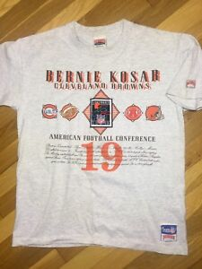 Image Is Loading 80s VTG BERNIE KOSAR CLEVELAND BROWNS NUTMEG SHIRT