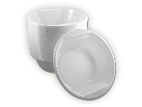 4,37€//100Stk. Weiß 1600x Suppenteller Suppen Teller Einweg Geschirr Neu