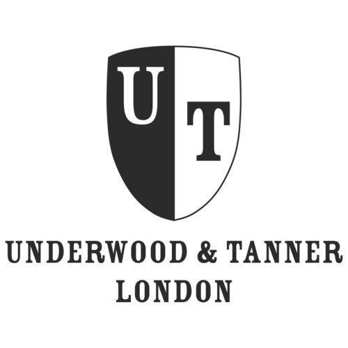 Underwood Tanner-Large /& Tan Travel Organizer//Portafoglio in pelle pieno fiore