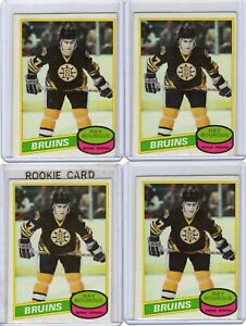 80-81-OPEECHEE-ROOKIE-LOT-OF-4-RAY-BOURQUE