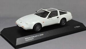 Kyosho-Nissan-Fairlady-Z-300ZR-300ZX-HZ31-Z31-en-Cristal-Blanco-03361-W-1-43-Nuevo