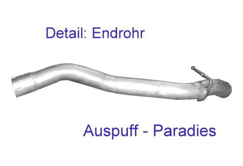 Abgasanlage Auspuffanlage Auspuff für Ford Focus C-Max 2.0 TDCi Typ DA/_ Kit