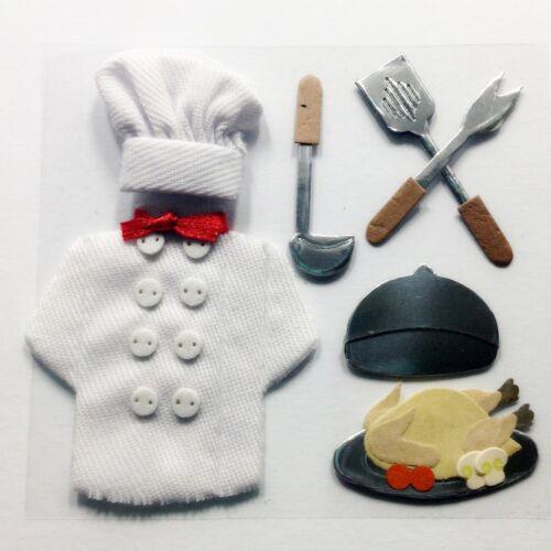 Chef Cuochi vestito con accessori Abbellimenti NUOVO C0129
