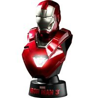 $50 Hot Toys Iron Man 3 Iron Man Mark 33 1/6 Scale Bust Figure (red)