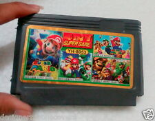 video game cartridge 8 bit with games 4 in 1 Supergame YH 8053