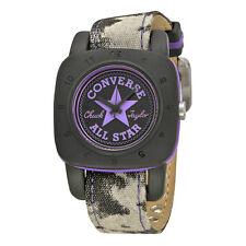 Converse Premium Black Dial Purple Canvas Unisex Watch VR-029-047