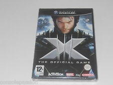 NINTENDO GAMECUBE - X-MEN OFFICIAL GAME  - NEW FACTORY SEALED FREE UK POST