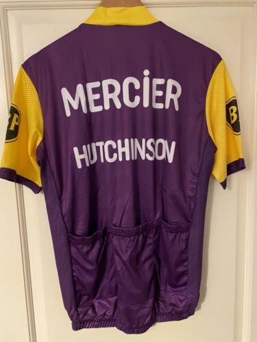 Maillot Cycliste Vélo Réplique Mercier Hutchinson Poulidor Années 60 70 XL