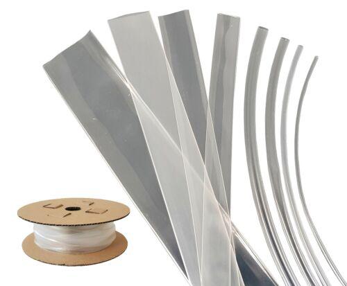 2:1 Schrumpfschlauch PO1 38,1mm 105°C transparent Rollenware