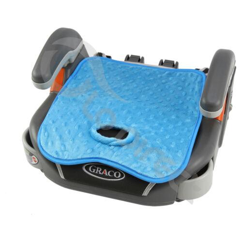 aq blue//minky CAR SEAT Potty Training Pad liner insert Machine wash WATERPROOF