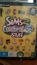 The Sims 2 Celebration Stuff PC GAME - FREE POST