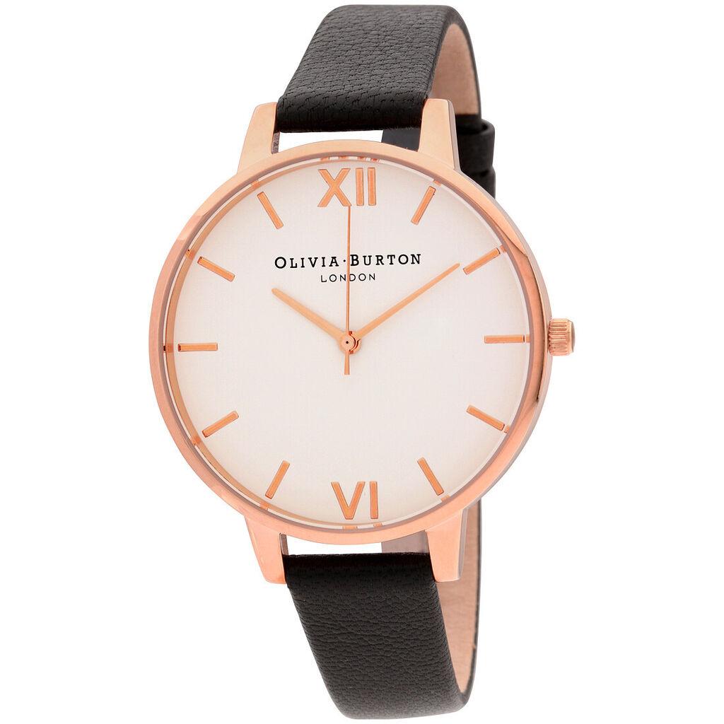 Olivia Burton Big Dial Quartz Movement White Dial Ladies Watch OB16BDW09 | Ebay
