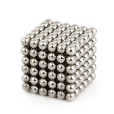 5mm 216pcs Neodymium Magnet Balls Magic Beads 3D Puzzle Ball Sphere Kids toy