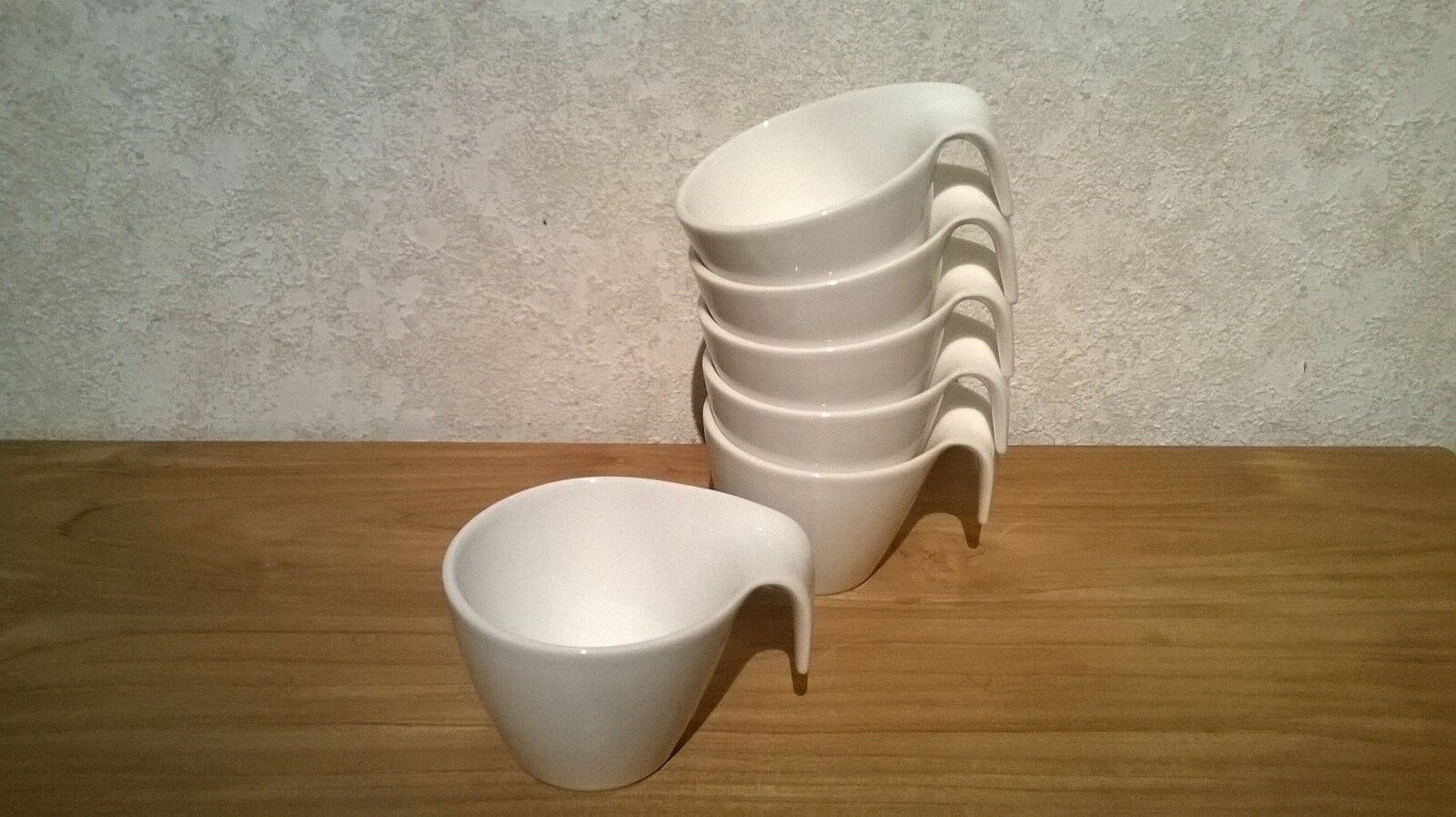 VILLEROY & BOCH NEW Flow Set 6 Tasses à café 20cl (sans soucoupes) V&B