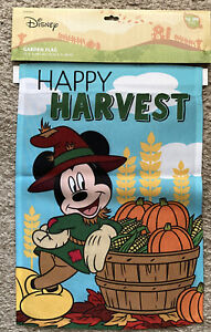 Disney Happy Harvest Garden Flag New In The Package Ebay
