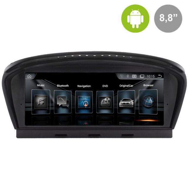 BMW SERIE 5 E60, E61, E62 CCC (2005-2009) ANDROID GPS MANOS LIBRES PARROT