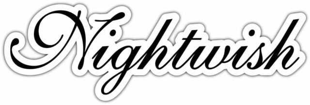 Nightwish band music car bumper window locker notebook sticker decal
