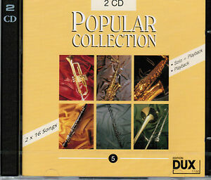 Playalong-Playback-CD-zu-Popular-Collection-5-2-CDs-fuer-alle-Instrumente