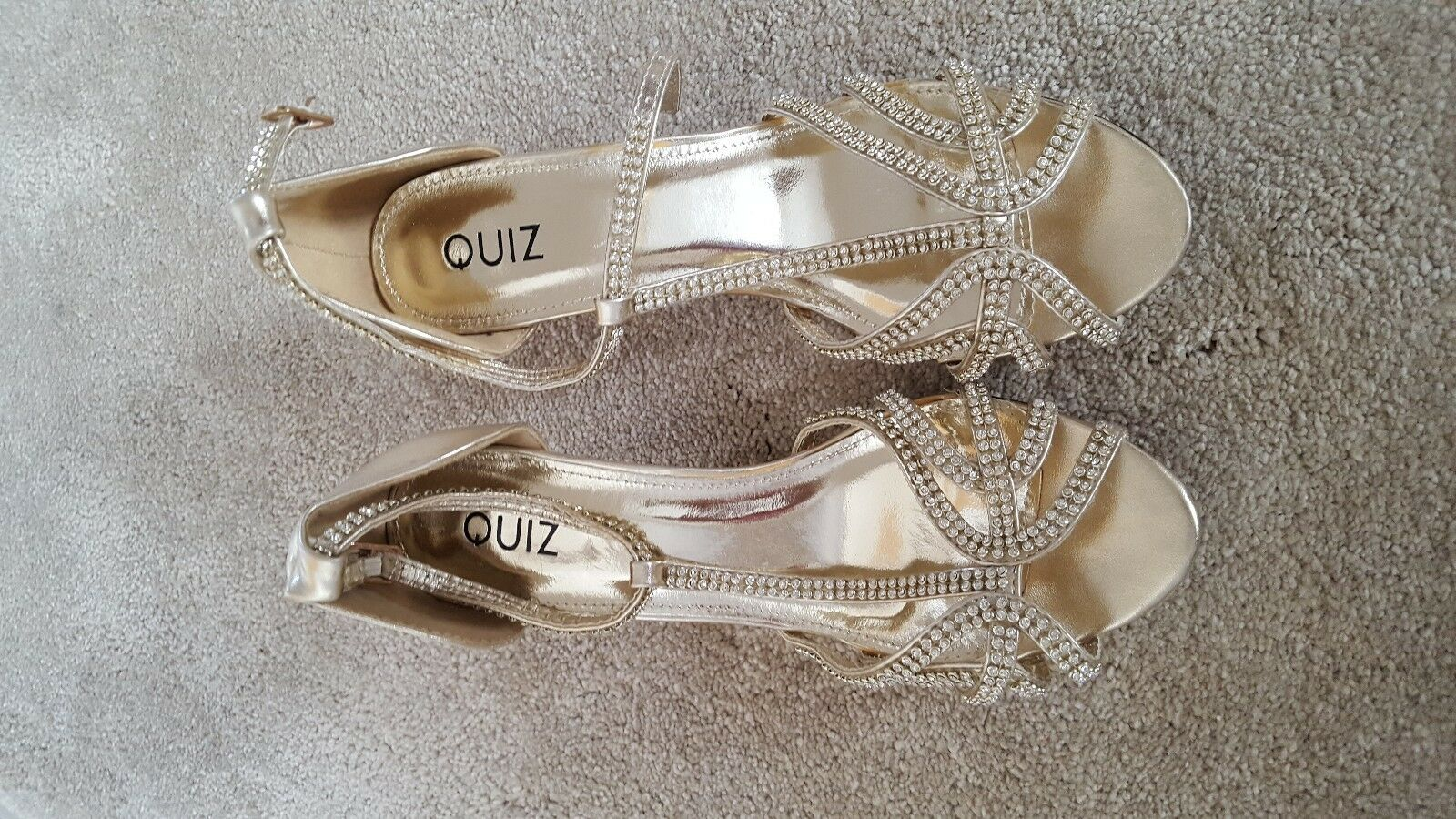 Quiz or or or Sandals Taille 6 d740e3