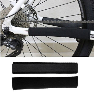 2pcs Bicycle Bike Chainwatcher Clamp Single Chains Deflector Guide Black