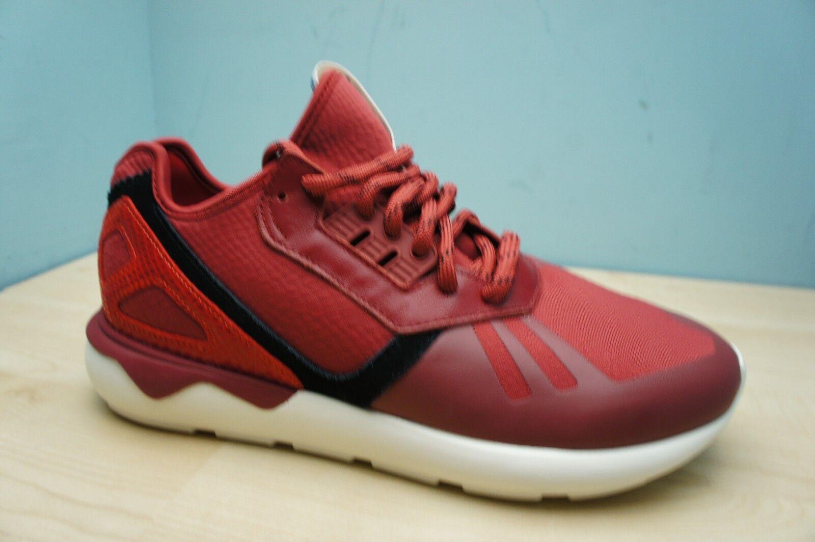 Adidas Originals Mens Größe 7 UK UK UK Tubular Power rot & Weiß Running Gym Trainers 963008