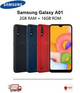 Nouveau-Samsung-Galaxy-A01-A015FD-Dual-SIM-Debloque-Smartphone-16-Go-4-G-2Y-GARANTIE