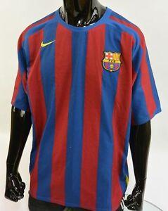 447555930 Barca 2005-06 nike FC Barcelona Home Football Shirt SIZE XL (adults ...